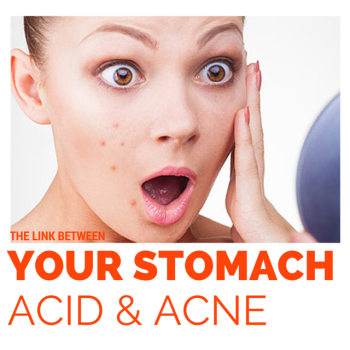 Acid and acne