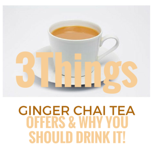 3Things GINGER CHAI TEA