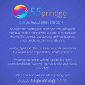 55 printing graphic