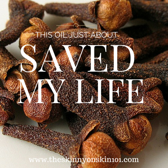 This Oil Just About Saved My LIFE!